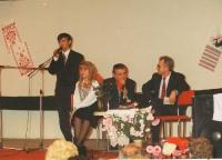 1995 рік - на презентації книги Хортицьки дзвони