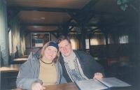 Марина та її чоловік Юра Нога