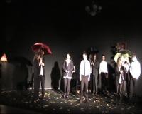 Студенти театрального відділення ЗНУ читають поетичні тексти Марини Брацило (Грудень, 2015).